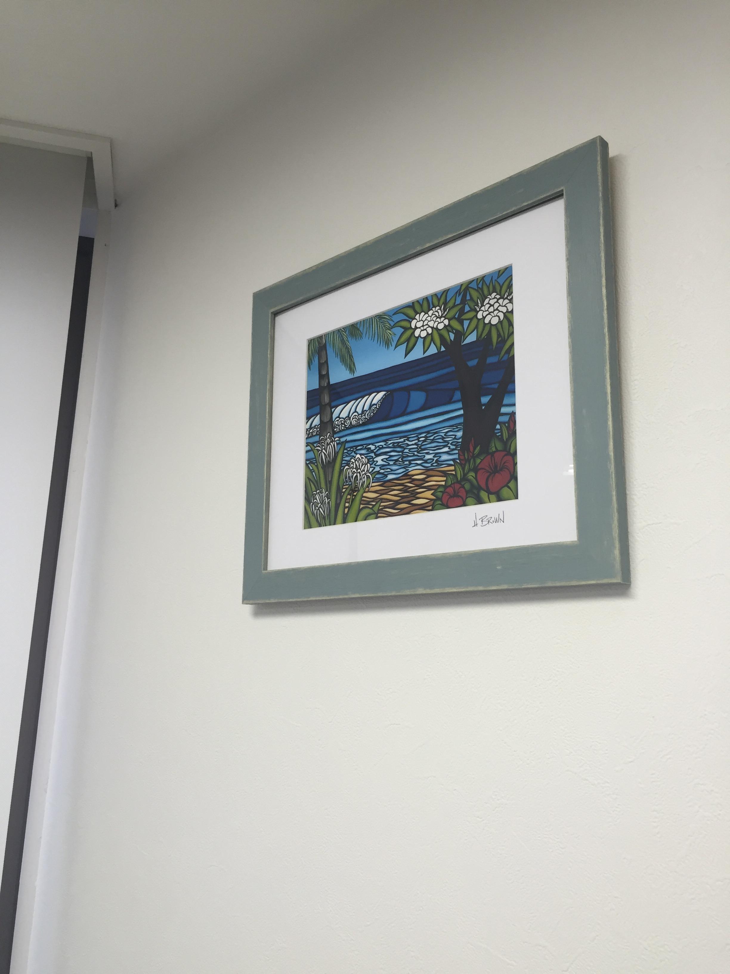 診療室の絵画