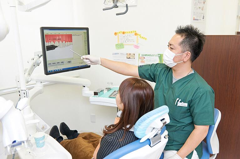 むし歯の進行状況別の治療内容